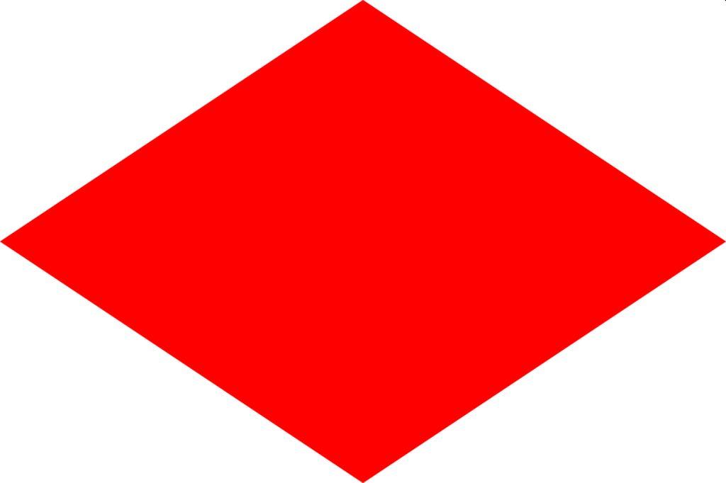 Flagge Foxtrott
